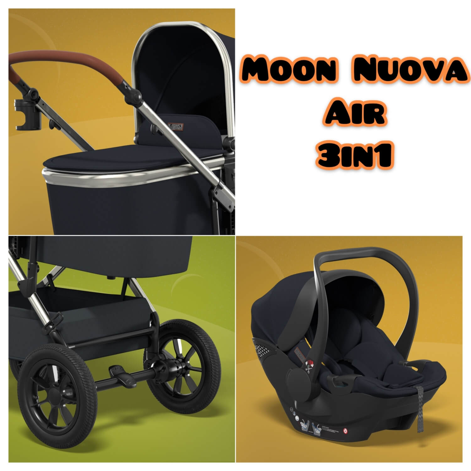 Moon Nuova Air 3in1