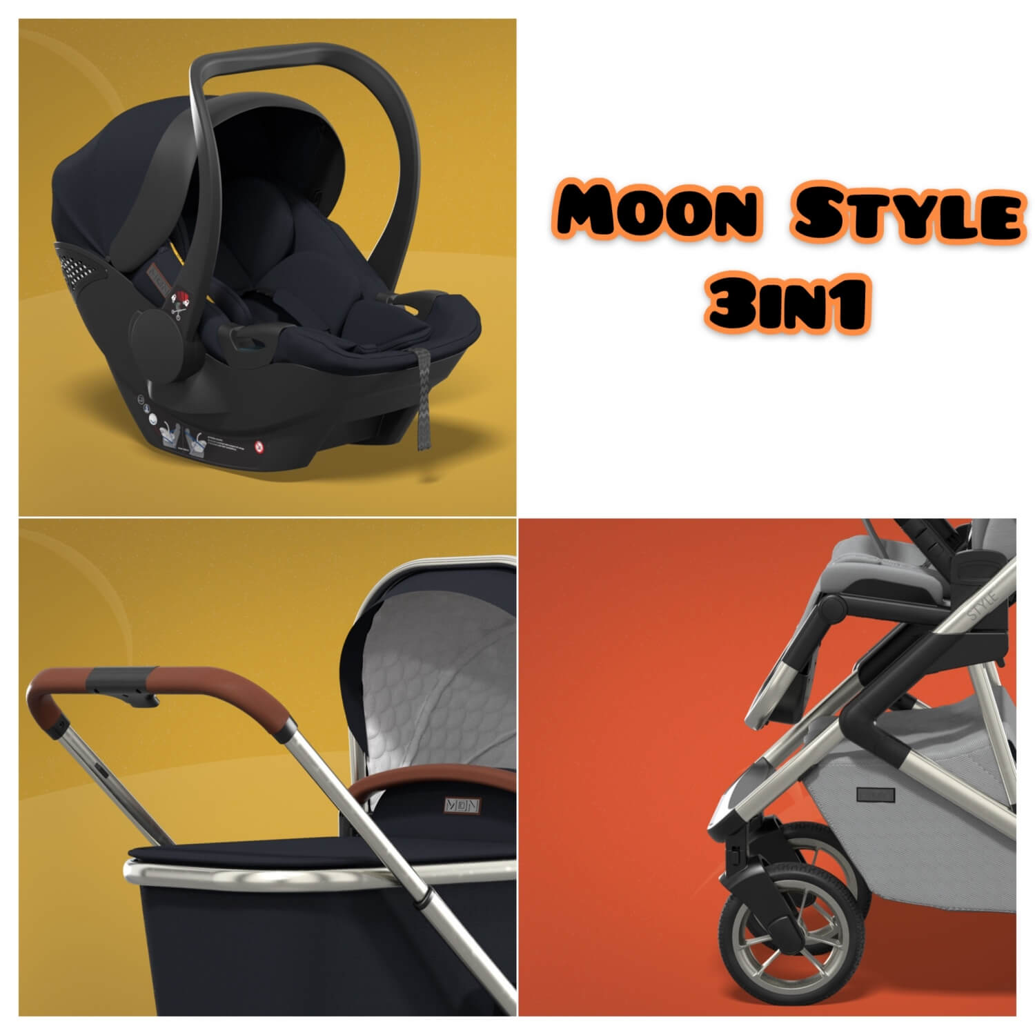 Moon Style 3in1